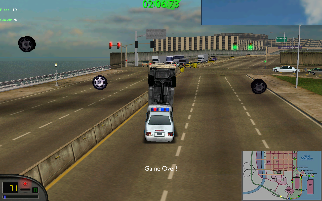 MM1 Cops are stronger than these Freightliners! :P