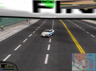 Just a tenth of a second ahead of the yellow Panoz GTR-1.