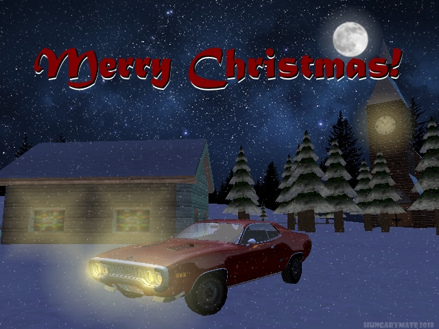 I wish Everyone a Merry Christmas and a Happy New Year! :)