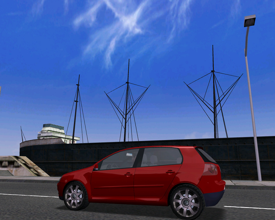 the last car by riva :) the new vw golf!