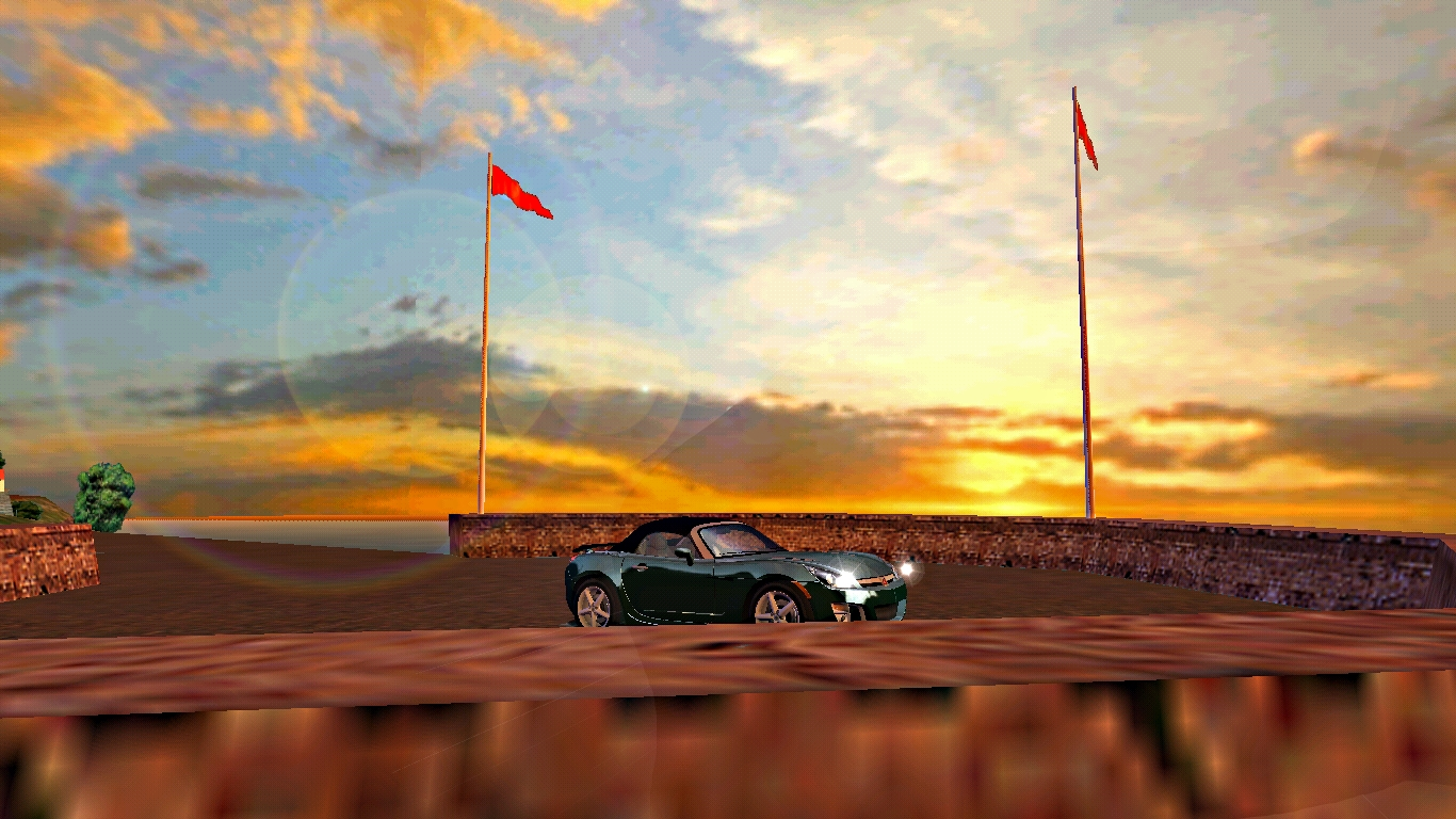 the first shot with 2007 Saturn Sky Red Line
