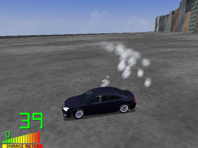 drifting in a mondeo