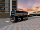 A virtual KMB bus that is converted from 12m to 9m.