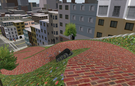 Offroading using Moon Rover on Lombard Street.