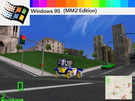 A loading screen that I could make if I had a Windows 95. 