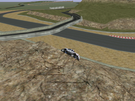 Me hanging on a cliff in Laguna Seca in my Ford F-350 Monster Truck