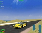 For a 10 - lap endurance race, what better car to use than a Corvette C6.R?