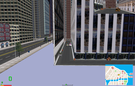 There is an invisible building blocking this alley from both sides. I will see if same bugs are there in MM1.