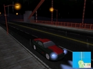 cruising in the night in the rain on the golden gate bridge with my saleen from madness revived.