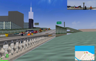 I was cruising Chicago in MM2, and found some bugs. Lets have an eye on them. The first and second was has missing terrain. Though both are not spotted unless thrill camera.