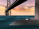 I made a big jump to the Bay bridge in San Fransisco with the MM2 revisited mod.
