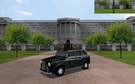 Buckingham palace + London Cab