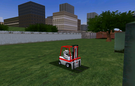 Forklift in Madness City 3.