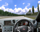 A MM2 track called Forest Club and the Nissan GT-R with the great dashboard of Christian (VW-Tuner-Oburg).