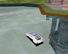 22nd century car hovering over water.:)