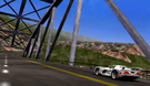Panoz GTR-1 on Sajmon's Ridge Valley map.
