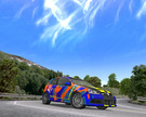 The Volkswagen Golf V R32 driven on a new MM2 map, Akagi Downhill !