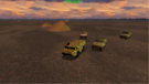 Alpha 1 (First HMMWV): This is Alpha 1, we need a helicopter attack on the enemy APC! Over.