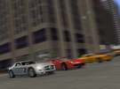 Drag race in NYC... Jeremy in the SLS AMG vs James in the 458 Italia