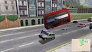 Watchout for falling busses and wheelie cars!
