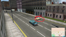A n00b cop parked its car on the road.