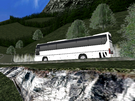 I took the Daewoo Tour Bus through the mountain pass... lets just say I had to spend 45 minutes trying to get the bus back on the road. Good Times!