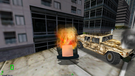 A brave HMMWV driver has knocked out an enemy Vaaaa Killer and saved San Francisco from a terrorist attack.