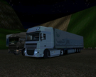 My Daf xf105 and trailer