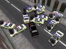 It takes 1 hour to collect all police cars.